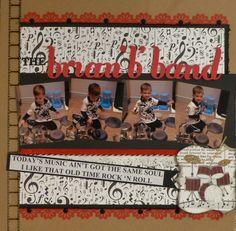 THE brian 'b' band - Scrapbook.com