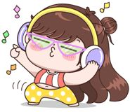 Boobib Lovely Daily (... | 光頭賣 - 最大的LINE貼圖代購網 | 全館通通降五元 VIP儲值300送40 Baby Girl Earrings, Ariana Grande Outfits, Cute Couple Cartoon, Cartoon Gifs, Digital Stamps, Girl Humor, Cute Stickers, Cute Couples, Smurfs