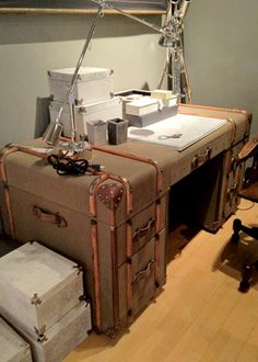 luggage desk-another one http://www.amazon.com/The-Reverse-Commute-ebook/dp/B009V544VQ/ref=tmm_kin_title_0