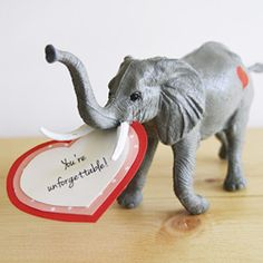 Toy Animals to get that special Valentine's message to your loved one