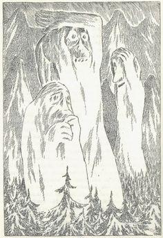 Tove Jansson Hobbit   Illustration: Tove Jansson's Hobbit