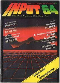 Input 64 Magazin 8/85