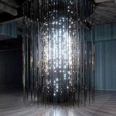Leo Villareal Cylinder, 2011 | Light Show @ Hayward Gallery