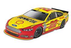Revell SnapTite MAX NASCAR #2 Brad Keselowski Blue Deuce Fod Fussion Model Kit