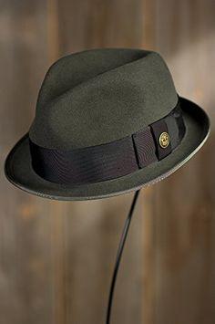 64b190a40e8  87.50 Guido Delgado Goorin Brothers Wool Fedora Hat