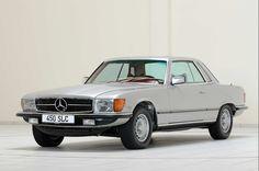 1979 Mercedes-Benz 450 SLC (R 107), silver car