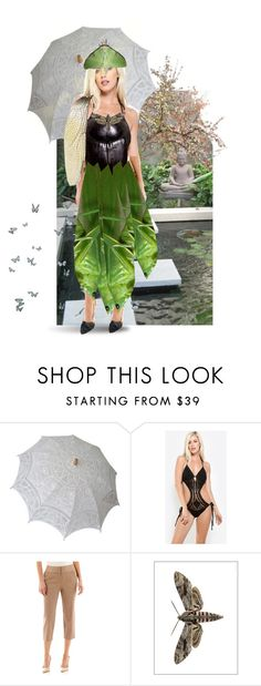 """""""Insect Ball Gown"""" by alzjunkyard ❤ liked on Polyvore featuring Worthington, Liljebergs, women's clothing, women's fashion, women, female, woman, misses and juniors"""