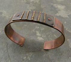 A present for myself. Copper bracelets turn my skin green…   Flickr