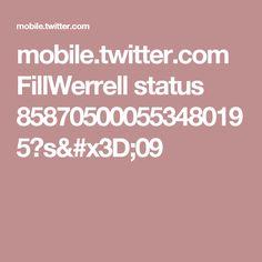 mobile.twitter.com FillWerrell status 858705000553480195?s=09