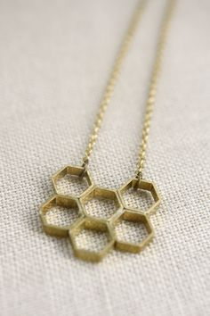 Honeycomb Necklace $25.00