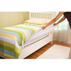 PRIMO Adjustable Bed Guard Rail WhiteAmazonBaby