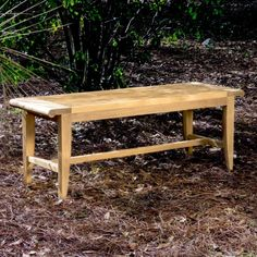 The Laguna Backless Teak Bench is made of Certified plantation grown Teak Wood. All our teak benches come with a Lifetime Warranty. Available in 4 ft., and 6 ft. Used Outdoor Furniture, Bench Furniture, Garden Furniture, Outdoor Decor, Furniture Design, Modern Furniture, Yard Benches, Patio Bench, Outdoor Benches