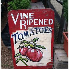 #vintage sign.