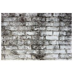 Grunge Textures - Grungy Brick Wall #1563 - Free Stock Photo ❤ liked on Polyvore