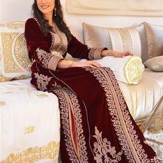 Hijab Outfit, Muslim Fashion, Kaftan, Moroccan, Embroidery Designs, Sari, Bridal, Elegant, Formal Dresses