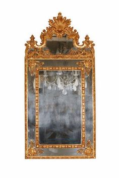 Parclose Mirror (c.1850) http://wu.to/Pd9gHw #Homedecor