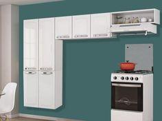 Cozinha Compacta Itatiaia Rose - 7 Portas Aço com as melhores condições você encontra no site do Magazine Luiza. Confira!