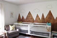 Like A Project: Modern, Outdoorsy, Gender Neutral Nursery for Boy/Girl Twins