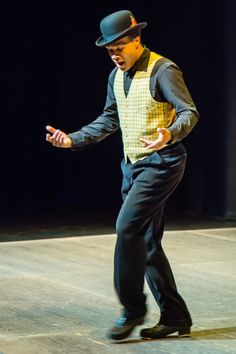 """Troy McLaughlin's tribute to Bill 'Bojangles' Robinson, part of his most recent work """"I Have a Dream"""", which premiered at Dance Allsorts Sunday, February Images courtesy of Allan Beaton. February 9, I Have A Dream, New Words, Troy, It Works, Sunday, Dance, Dancing, Domingo"""