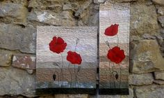 """""""Red poppys"""" - by melipatch - Forever Flowers, Quilts, Red, Painting, Home Decor, Scrappy Quilts, Decoration Home, Room Decor, Quilt Sets"""