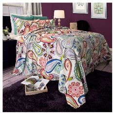 Lizzie 3 Piece Quilt Set - Yorkshire Home