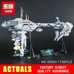 2017 New LEPIN 05083 Star Wars Series Dental warships 1736Pcs Educational Building Blocks Bricks Toys Model Gift (32804570575)  SEE MORE  #SuperDeals