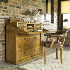 Lamont Office Chest - Oak