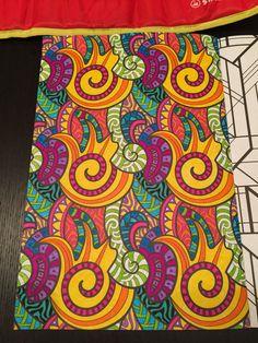 """Uit """"Het tweede enige echte kleurboek voor volwassenen."""" Inspiratie van Pinterest."""