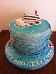 Cruise ship lover's cake - Cake by Suzybakes