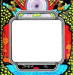 Arte de arcade de maquinas de los 90 argentina por Ana Maria Arcade, Retro Aesthetic, Pinball, Symbols, Letters, Argentina, Dibujo, Letter, Lettering