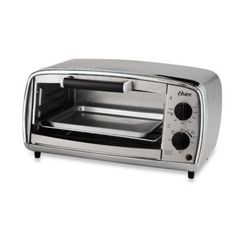 Oster® Stainless Steel Toaster Oven offers a sleek stainless steel finish, chrome accents, and subtle curves to create an eye-catching toaster oven. Stainless Steel Toaster, Brushed Stainless Steel, Kitchen Cooler, Small Appliances, Kitchen Appliances, Kitchen Gadgets, Kitchens, Kitchen Must Haves, Baking Pans
