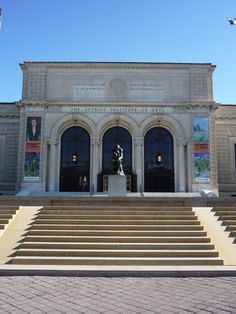 Detroit Institute of Arts in Detroit is a really special date venue. Even if you're not an art aficionado, I think looking at art with a new friend is real relationship developer.