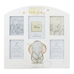 Disney Dumbo Precious Little Baby Multi Photo New Baby Nursery Frame DI286 | Baby, Christening & Gifts, Christening | eBay!