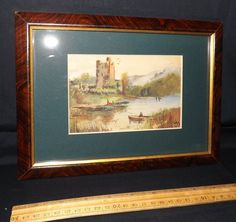 1931 English Watercolor in Period Frame
