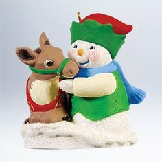 2011 Hallmark Snow Buddies Ornament no.14 in Series ^^ Additional details found at the image link  : Ornaments Home Decor