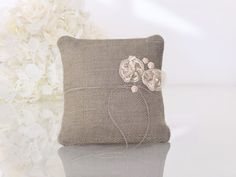 Ring Pillows, Throw Pillows, Rustic Wedding, Wedding Day, Dream Wedding, Vintage Style Rings, Ring Pillow Wedding, Wedding Ring, Cushion Ring