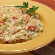Creamy Shrimp Risotto