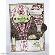 Kit scapbooking Bo Bunny - Beautiful Dreamer - Papiers 30,5 x 30,5 cm et Stickers - Photo n°4