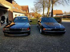 BMW E38 vs E39