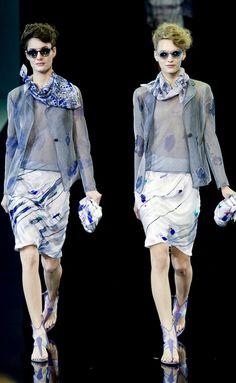 Giorgio Armani s/s 2014 Milano Fashion Week