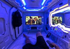 The Skinny On Choosing The Best Hotels – Hotels Futuristic Bedroom, Futuristic Interior, Arquitectura Wallpaper, Sleeping Pods, Spaceship Interior, Capsule Hotel, Star Wars Room, Video Game Rooms, Boutique Deco