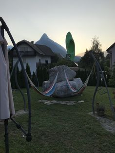 Morning View, Slovenia, Hostel, Outdoor Furniture, Outdoor Decor, Hammock, Chill, Places, Lugares