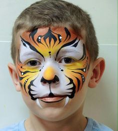 Child Face painting.