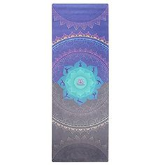 Amazon.com : MamaRoo Yoga Premium Yoga Mat - Eco, Printed Exercise Mat With Carrying Strap. Non-Toxic, Odorless Microfiber & Natural Tree Rubber Design - Best For Women, Kids, Pilates & Hot Yoga - No Towel Needed : Sports & Outdoors