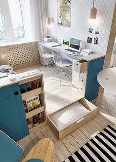 Apartamento pequeño tipo estudio