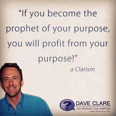My purpose...