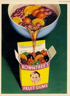 ✔️ Vintage Advertising Posters | gum