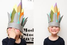 paper hats for boys and girls,