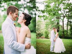 Gorgeous and Romantic Mountain Wedding in Hendersonville, NC -- by {meagan abell photography}