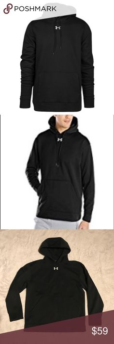 New Men's Black Under Armour Hooded Sweatshirt Brand new without tags! ⚜️I love receiving offers through the offer button!⚜️ Fast same or next day shipping!📨 Open to offers but I don't negotiate in the comments so please use the offer button😊 Check out the rest of my closet for more Adidas, Lululemon, Tory Burch, Urban Outfitters, Free People, Anthropologie, Victoria's Secret, Sam Edelman, Topshop, Asos, Revolve, Brandy Melville, Zara, and American Apparel! Under Armour Shirts Sweatshirts…